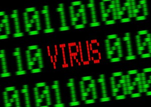 Virus im Computer