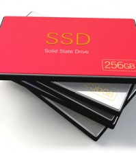 set of flash Solid State Drives