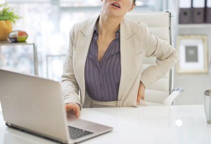 Nicht nur am PC, sondern an der richtigen Körperhaltung arbeiten